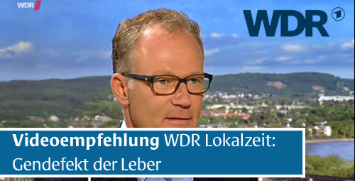 TV-Hinweis: Alpha-1-Antitrypsinmangel beim WDR