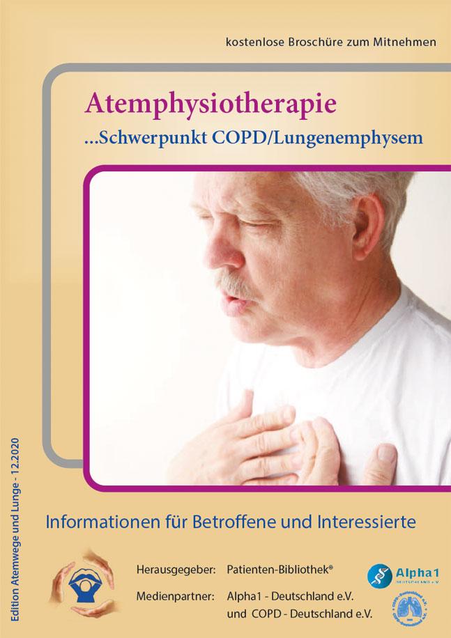 Cover Broschüre: Atemphysiotherapie