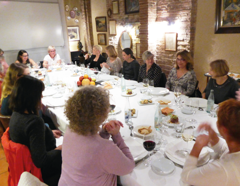 Abendessen in Barcelona