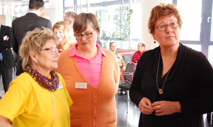 Im Gespräch mit Frau Petra Grimm-Benne, stellvertretende Ministerpräsidentin und Ministerin für Arbeit, Soziales und Integration des Landes Sachsen-Anhalt.