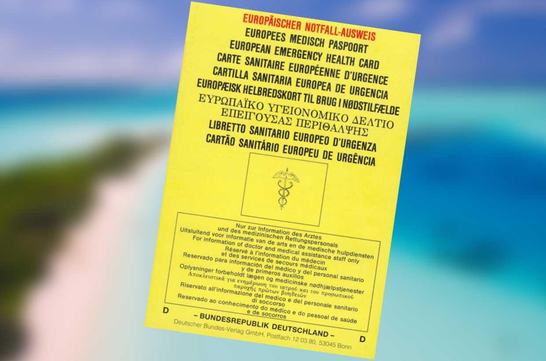 Europäischer Notfall-Ausweis