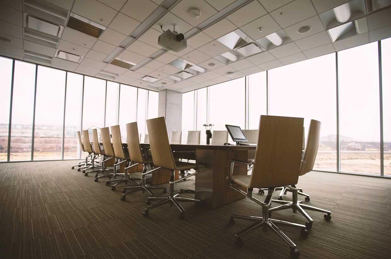 Foto eines Büros