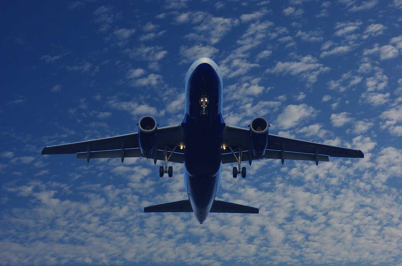 Flugzeug beim Starten