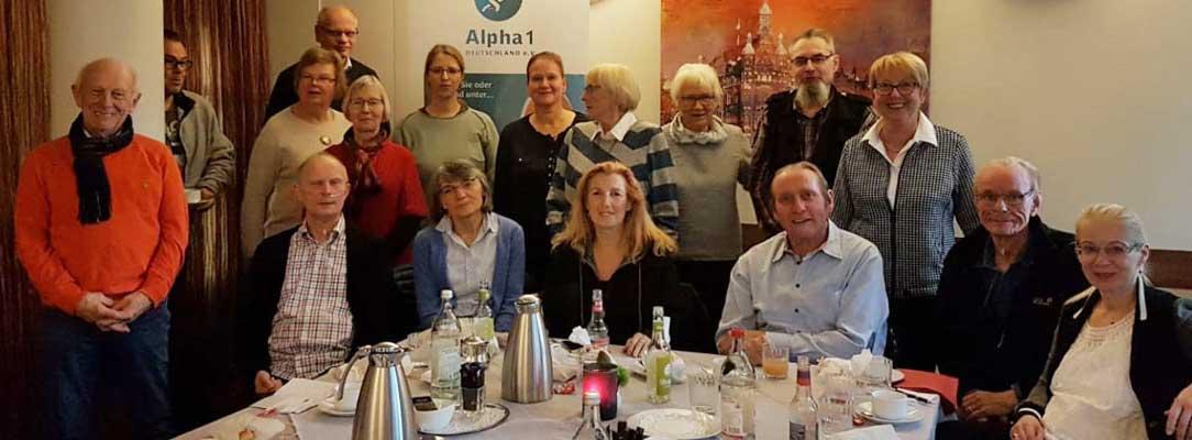 Gruppenfoto Treffen SHG Hamburg