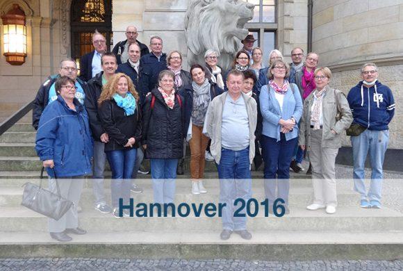 Gruppenleitertreffen 2016 in Hannover