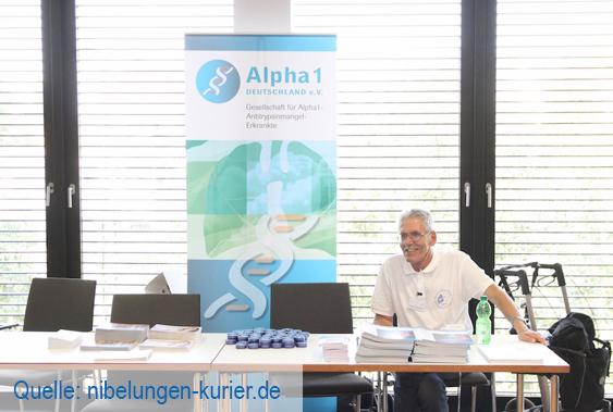1. Lungentagung Worms: Alpha1 Deutschland war dabei