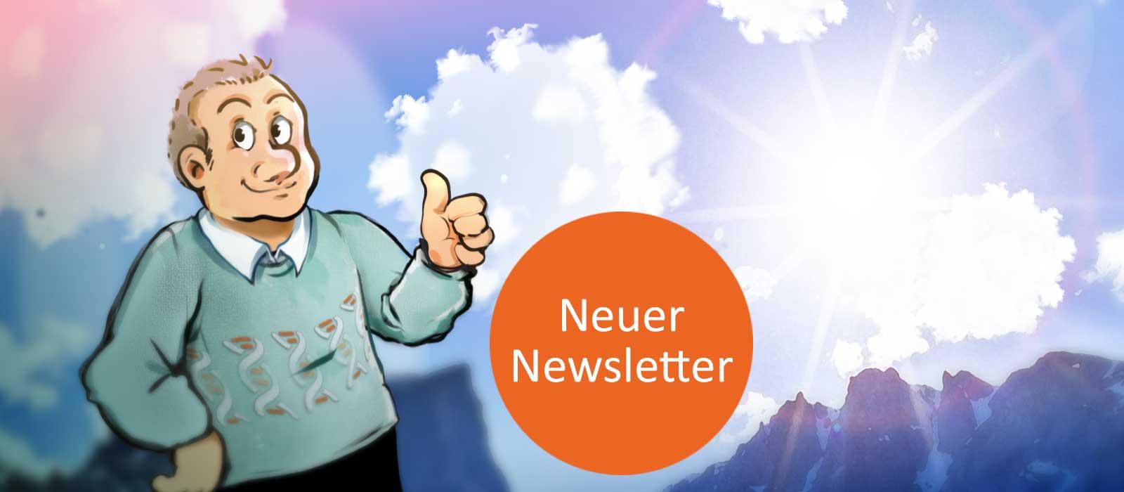 ALpha1-Mann - Ankündigung neuer Newsletter