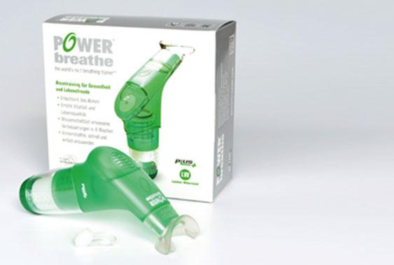 Erfahrungen mit dem Atemtrainer POWERbreathe Plus
