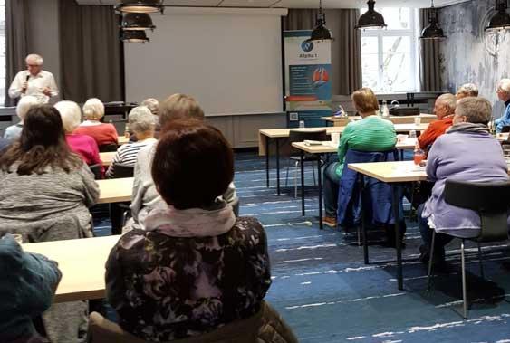 Regionaltreffen in Hamburg mit dem Thema Notfallmanagement bei Atemnot