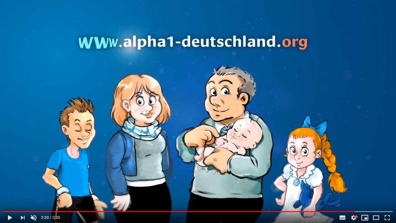 Vorschaubild des Erklärvideos: Was ist Alpha-1-Antitrypsin-Mangel?